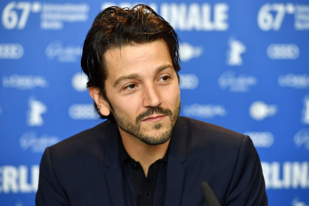 BERLIN, GERMANY - FEBRUARY 09: Member of the International jury of the Berlinale film festival director Diego Luna attends the International Jury press conference during the 67th Berlinale International Film Festival Berlin at Grand Hyatt Hotel on February 9, 2017 in Berlin, Germany. (Photo by Pascal Le Segretain/Getty Images)